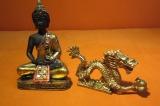 Buddha a drak feng-shui