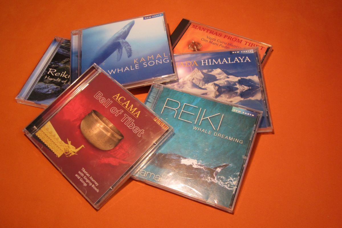 Meditační a relaxační CD